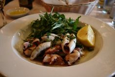 Ristorante Ideale's Calamari with Arugula