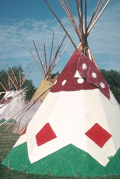 teepees by extension 504, via Flickr