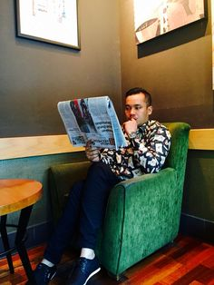 Baca koran