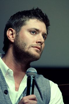 It's like they threw him back in time.... Colonial Jensen. This is beautiful.