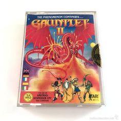 GAUNTLET II The Phenomenon Continues - U. S. GOLD - ATARI - 1986 AMSTRAD CPC 6128 664 DISCO DISKETTE