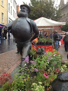 Scotland.Desperate Dan from The Dandy comic in Dundee