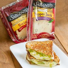 Three Cheese Pesto Avocado Grilled Cheese Sandwich is a great way to celebrate cheese with a full flavored and perfectly toasted sammie Mexican Food Recipes, Diet Recipes, Snack Recipes, Cooking Recipes, Healthy Recipes, Sandwich Recipes, Cooking Ideas, Healthy Meals, Food Ideas