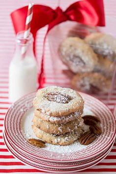 """With December 18 being """"Bake Cookies Day,"""" I knew I had to share this amazing recipe for pecan coconut cookies with you today! It's my ultimate favorite holiday cookie because it's easy to make and perfect for cookie exchanges, baking with the kids, and it's so delicious!"""