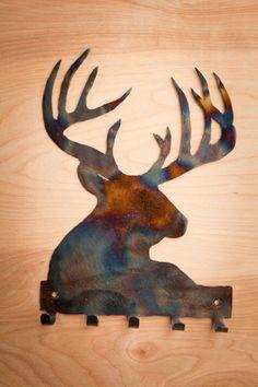 Wildlife Metal Wall Hooks. 3 styles for your choosing.  BourbonandBoots.com