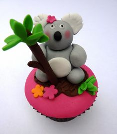 Love from Oz Koala Cupcake