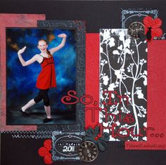 Individual dancer in costume with title of dance, coordinating embellishments, 1 pic, 5x7
