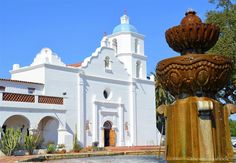 The gem of Old Mission San Luis Rey is its historic church which is considered a National Historic Landmark.