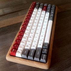 Making of a #mechanicalkeyboard part 3: putting the #keycaps  Many thanks to…