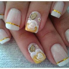 Like the gold stripe can do without the flower tho