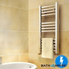 800 x 450mm Virginia Square | Electric Radiator | BathEmpire