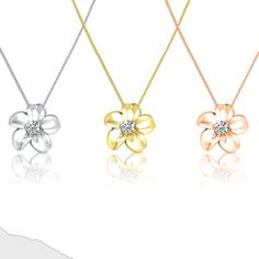 Show your love with flowers that last forever! 🌼 Flower Designs, Gold Necklace, Sparkle, Pendants, Diamond, Flowers, Shopping, Jewelry, Gold Pendant Necklace