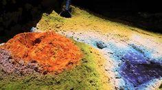 """Interaktivní """"Kinect"""" pískoviště (sandbox)"""