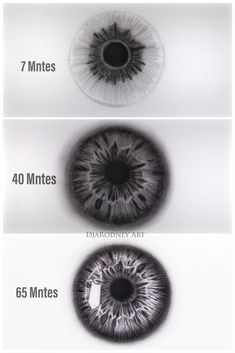 How to draw eyeball- step by step video tutorial/ click on link plz