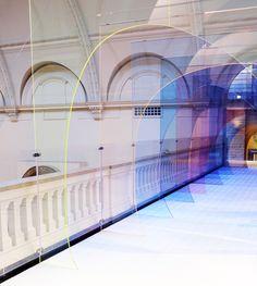 de Allegri & Fogale Mise-en-Abyme tunnel, 2015 London Design Festival