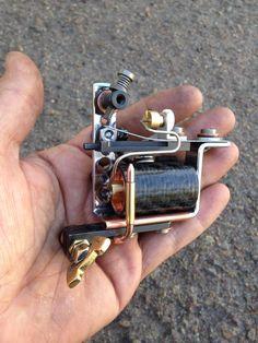 Ethik rotary tattoo machine on kaplan frame