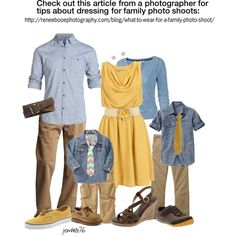 it's about the pie: What to Wear {Spring Family Picture Outfits} Family Portrait Outfits, Fall Family Portraits, Family Picture Colors, Family Picture Outfits, Clothing Photography, Family Photography, Children Photography, Photography Poses, Spring Family Pictures