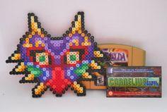 Zelda - Custom Majora's Mask Perler Bead Sprite by CorneliusPixelCrafts