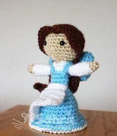 French village beauty amigurumi crochet pattern by Sahrit
