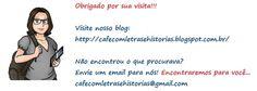 Café com letras e Histórias. Sua opção em sebo virtual. http://cafecomletrasehistorias.com.br