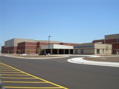 Eisenhower High School features MBCI's eco-FICIENT Insulated Metal Panel    www.mbci.com/eco-ficient