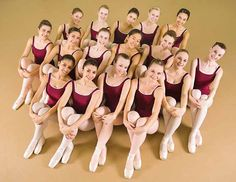 Dance team photo idea from Maple Youth Ballet Company