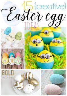 15 Creative Easter Egg Ideas
