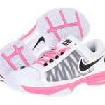 Comfort Is Everything : Tennis Shoes:White Pink Tennis Shoes By Nike–popular Women's Tennis Shoes  {#workouttennisshoes #cutetennisshoes #shoelove}