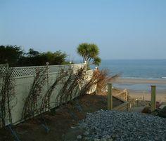 A coastal installation
