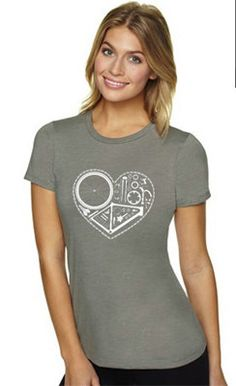 """Women's For the love of Cycling - """" Part Heart"""" Premium Cycling T-Shirt on Etsy, $10.00 Cycling T Shirts, Women's Cycling Jersey, Bike Shirts, Cycling Wear, Pink Bike, Underwear, Bike Style, Shirt Designs, Trending Outfits"""