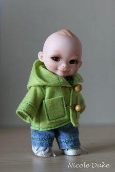 Duffle Coat for nappy choo by nicoleduke3 on Etsy. $25.00 USD, via Etsy.