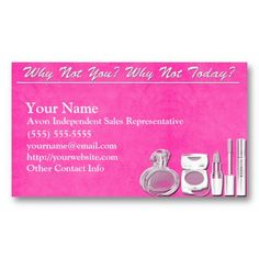 17 best avon business cards templates images on pinterest business avon business card wajeb Images