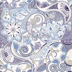 Paisley Pattern. Seamless Indian Pattern