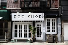 egg shop, new york - cup of couple