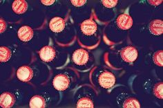 Classic Coke Bottles from a Fun Vintage Wedding in Kleinberg, Ontario.