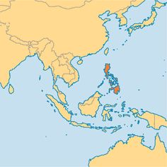 Map showing location of brunei in asia brunei pinterest brunei because youre in the heart of southeast asia gumiabroncs Images