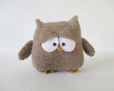 Allsorts Owl toy knitting patterns