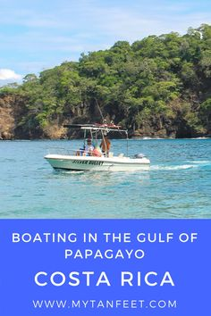 Our day boating in Costa Rica - we saw whales and turtles and visited beautiful beaches. A must do for every traveler!