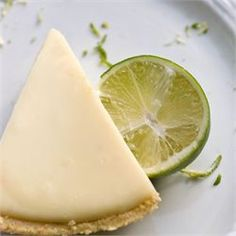 Creamy, tangy key lime pie makes a delicious summer (or anytime! Whether you buy a graham cracker crust or make your own, find your perfect key lime pie recipe at Allrecipes. Pie Recipes, Sweet Recipes, Dessert Recipes, Recipies, Citrus Recipes, 13 Desserts, Delicious Desserts, Sour Cream, Whipped Cream