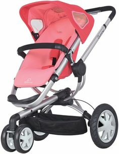 Quinny Buzz Stroller - Pink Blush - Free Shipping