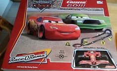 Carrera go 🚘 Disney CARS  62122 RACE O RAMA Lightning McQueen * Chick Hicks