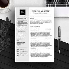 Resume Template  Creative Resume Template  Two Page Professional