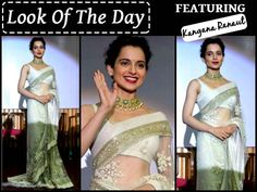 Kangana Ranaut's Sabyasachi Saree Look Is By Far Our Favourite Saree Looks Of All Time! ‪#‎KanganaRanaut‬ Sabyasachi Mukherjee ‪#‎Saree‬ ‪#‎Bollywood‬ ‪#‎BollywoodFashion‬