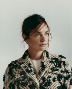 Ruth Wilson | Marie-Claire UK | She has to be one of the most uniquely gorgeous people I've ever seen.