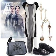Hunger Games Catching fire outfit