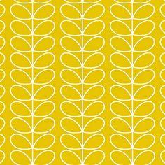 Orla Kiely Behang Linear Stem – Mimosa