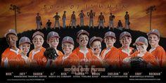 Motor City Flyers Travel Baseball Team Banner