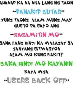 love quotes tagalog kalokohan Mial3LrNp Hugot Quotes, Emo, Tagalog Love Quotes, Love Hurts, Tumblr, Falling In Love, Website, Facebook, Emo Style