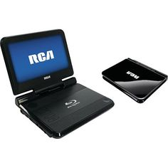 "RCA - 8"" Widescreen Portable Blu-ray Player - angleView"