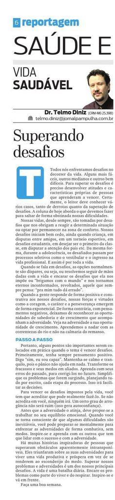 ISSUU - Pampulha - Sáb, 17/10/2015 by Tecnologia Sempre Editora